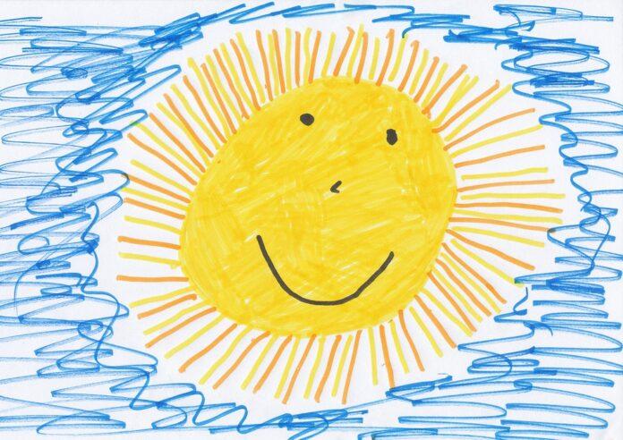 Kinderzeichnungen (Fun Tool aus der Serie: Werkzeuge für mehr Spaß bei der Arbeit)
