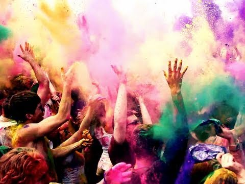 The Festival of Colors – Bunt macht lustig