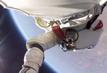 Insane Flight Footage – Geniale GoPro Aufnahmen vom Baumgartner Space Jump